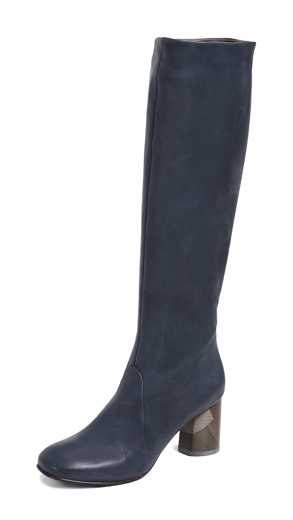 Coclico Shoes Lilac Tall Boots - Coal