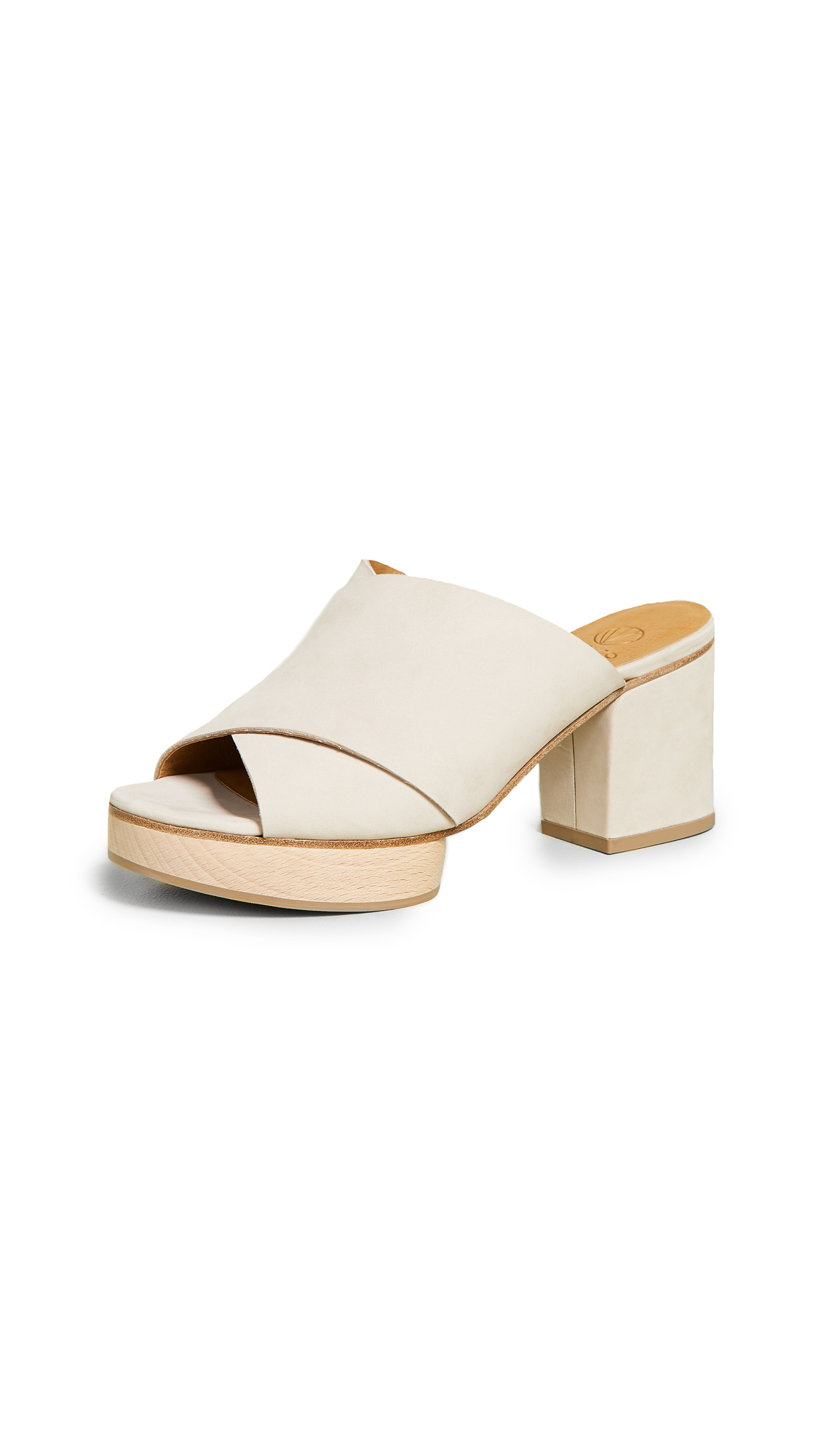 Coclico Shoes Richie 50 Platform Mules - Lyon Igloo
