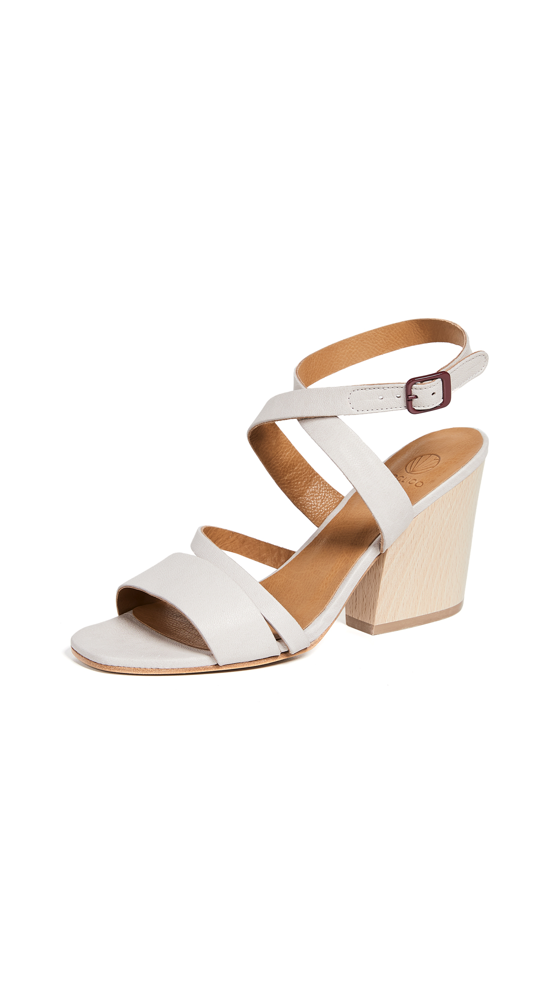 Coclico Shoes Taurasi Strappy Sandals - Rock Perla