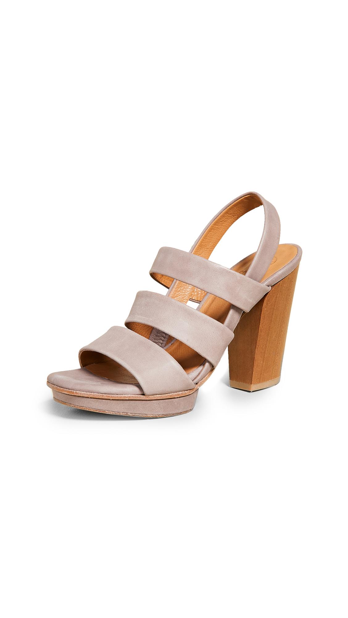 Coclico Shoes Una Strappy Sandals - Talco Faun