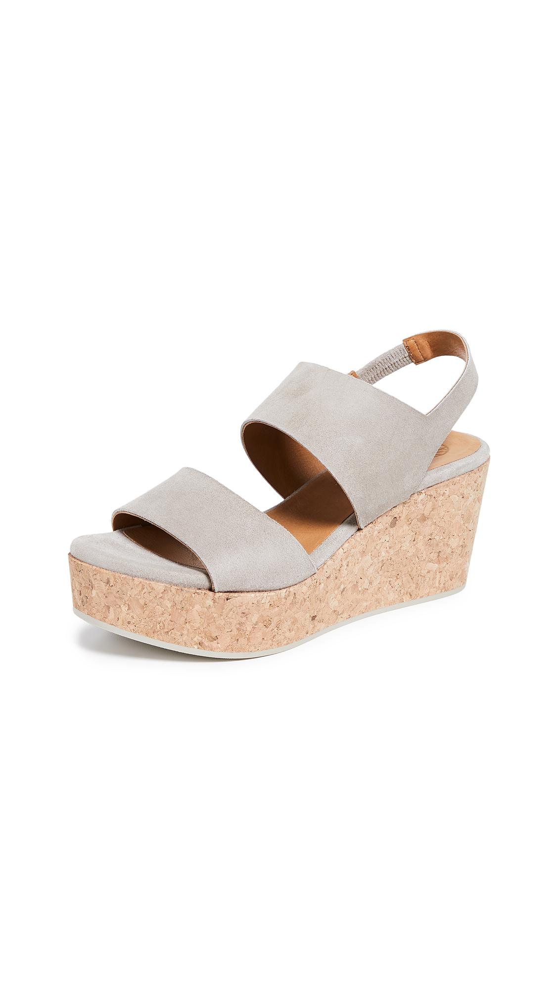 Coclico Shoes Glassy Platform Sandals