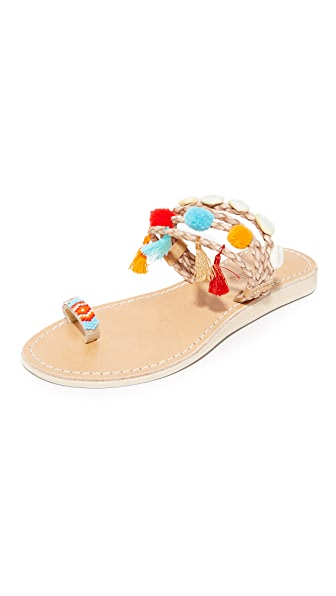 Cocobelle Kopi Toe Ring Sandals - Santa Fe