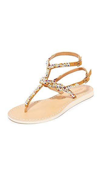 Cocobelle Nevis Thong Sandals In Santa Fe