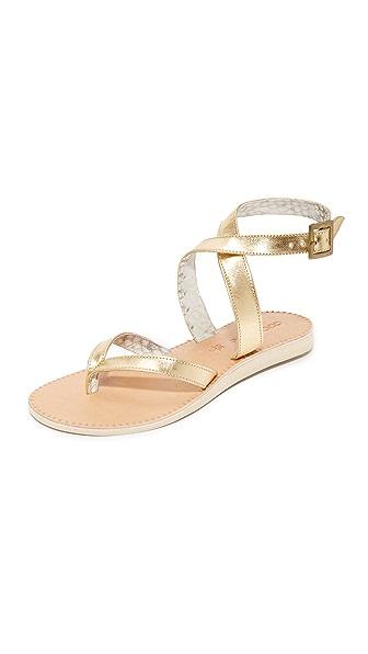 Cocobelle Corsica Sandals - Gold