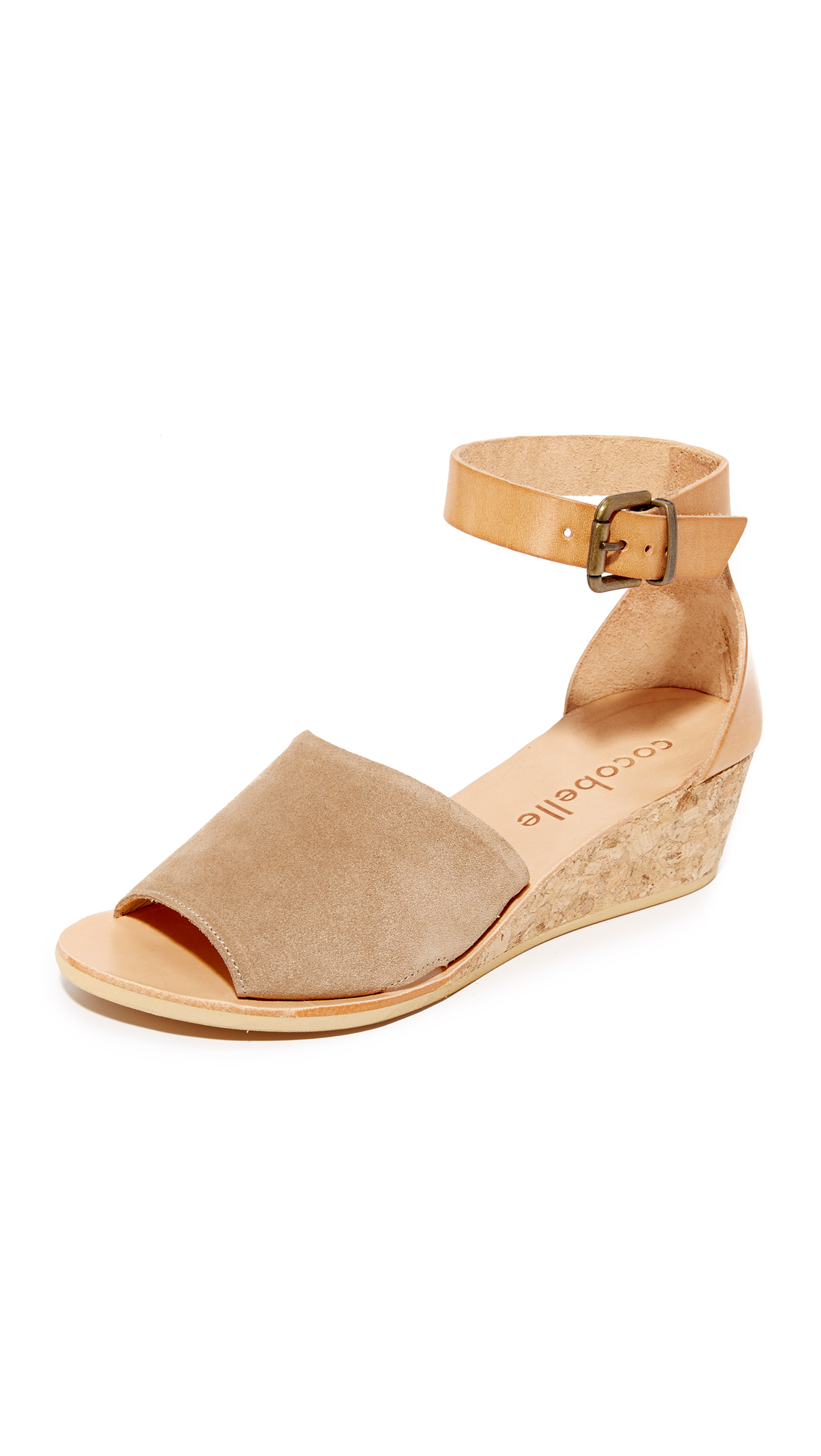 Cocobelle Sedona Wedge Sandals - Brown at Shopbop