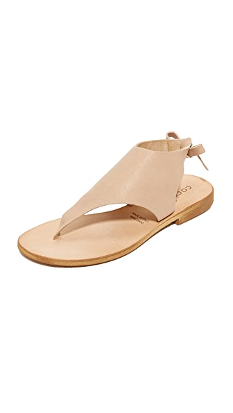 Cocobelle Tye Sandals - Beige