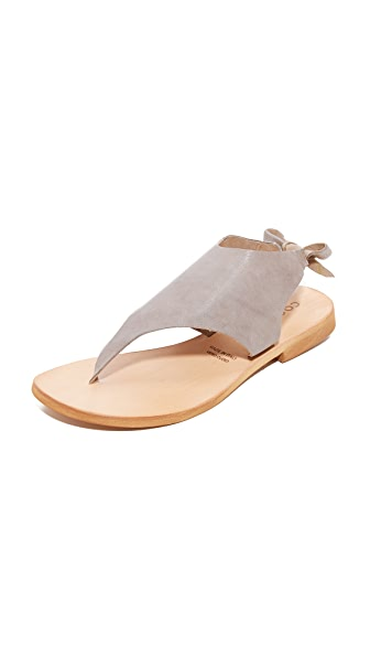 Cocobelle Tye Sandals - Gray