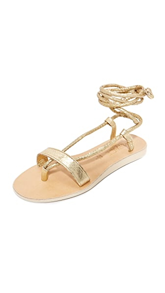 Cocobelle x L*Space Rio Sandals In Gold
