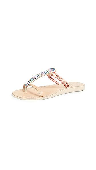 COCOBELLE Cali Geometric Sandals in Arrow