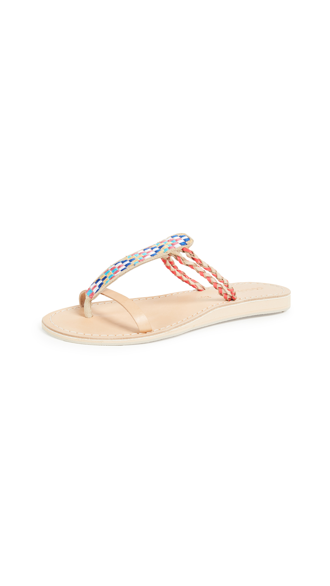 Cocobelle Cali Geometric Sandals - Arrow
