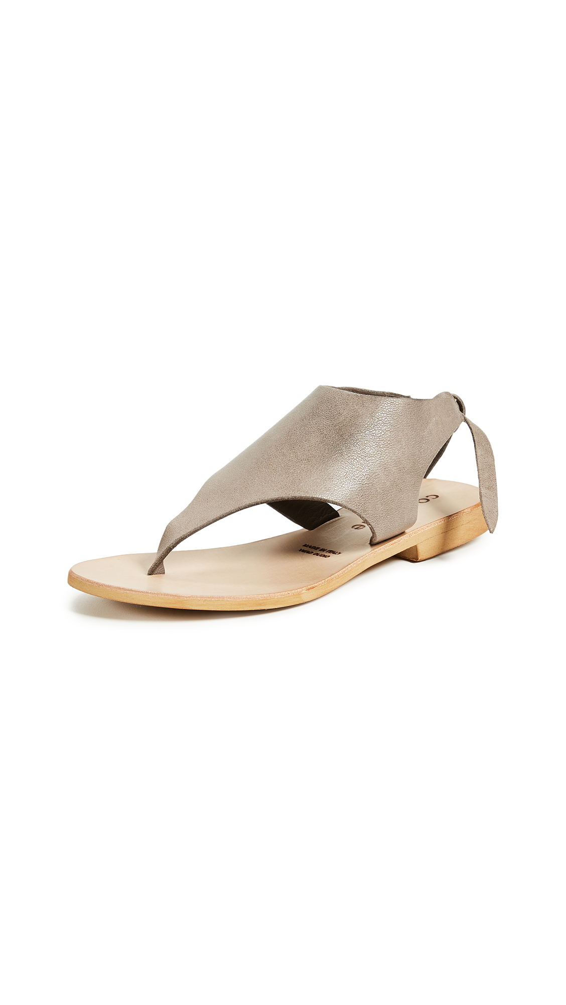Cocobelle Tye Sandals - Gray
