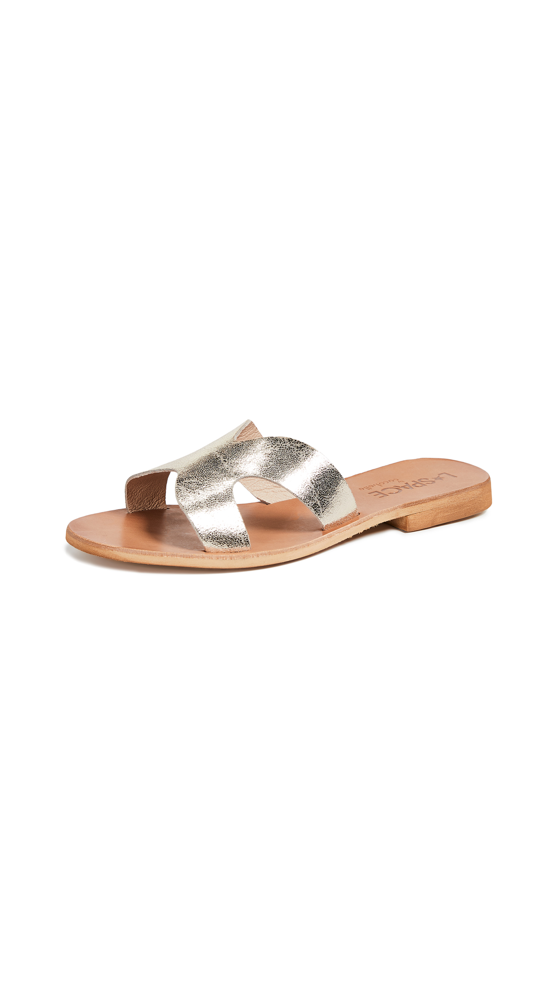 Cocobelle x L*Space Los Slide Sandals - Antique Gold