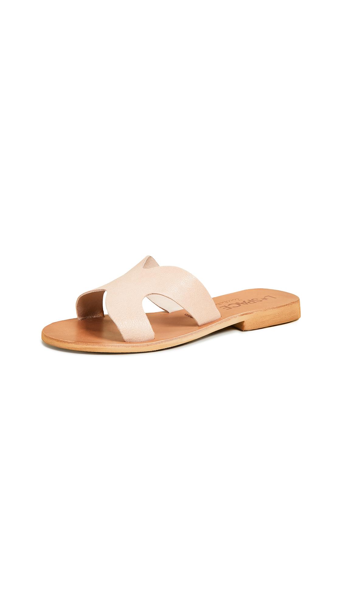 Cocobelle Los Slide Sandals - Beige