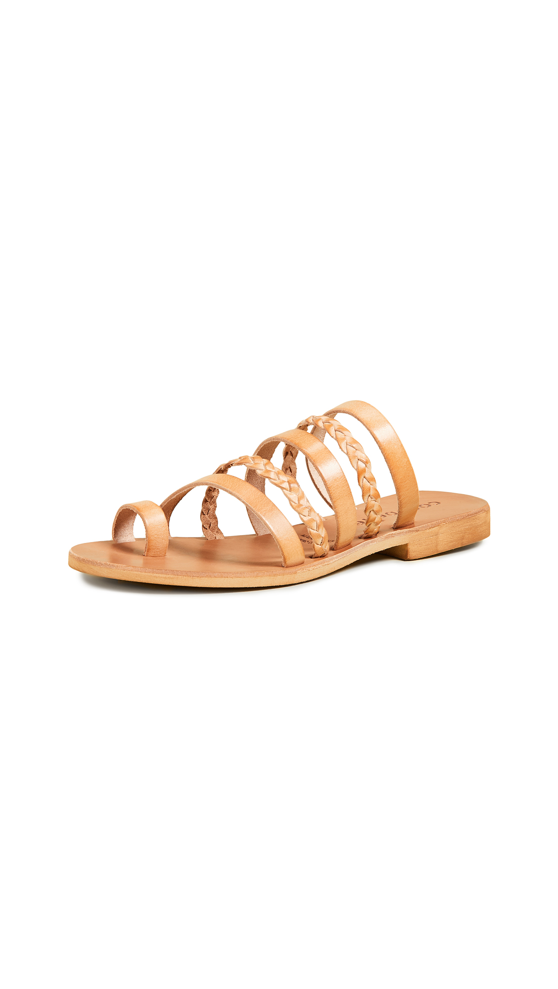Cocobelle Liv Strappy Sandals - Natural