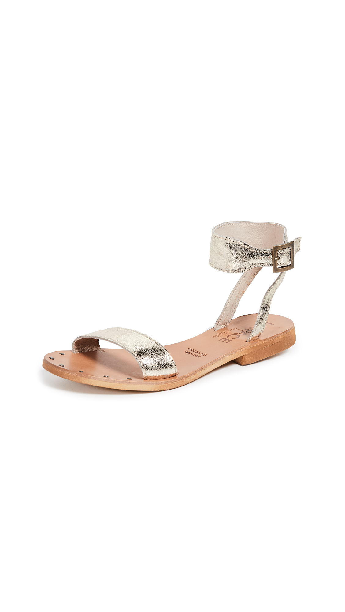 Cocobelle x L*Space Hanalei Sandals - Antique Gold