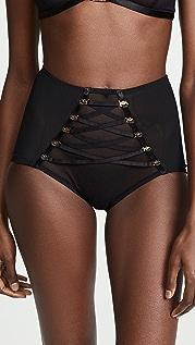 Coco de Mer Medusa High Waist Panties