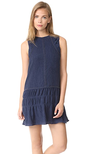 Chloe Oliver Crinkle Texture Mini Dress at Shopbop