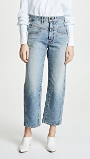 Colovos Vintage Front Yoke Jeans