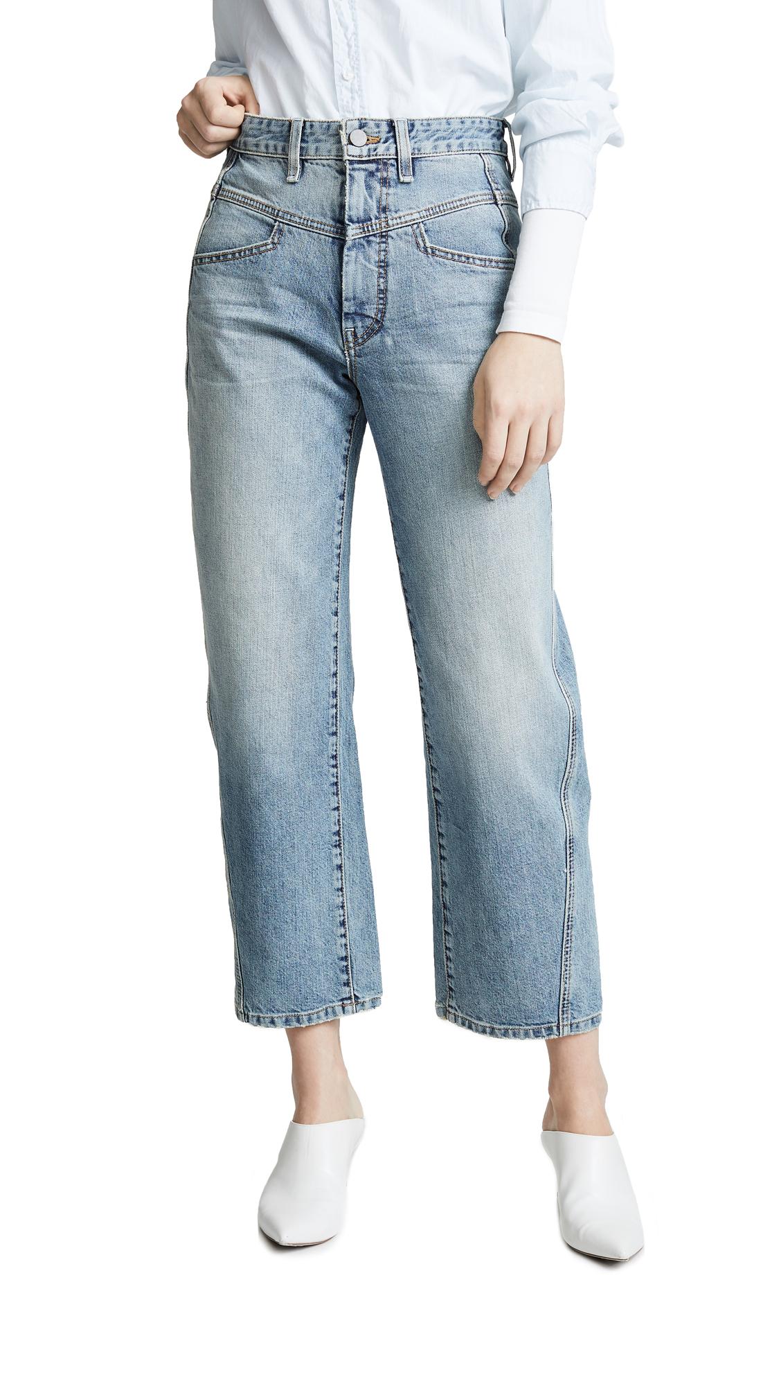 Colovos Vintage Front Yoke Jeans