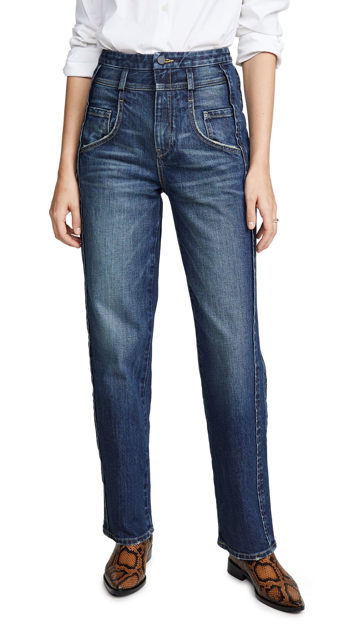 Buy Colovos online - photo of Colovos Side Panel Jeans