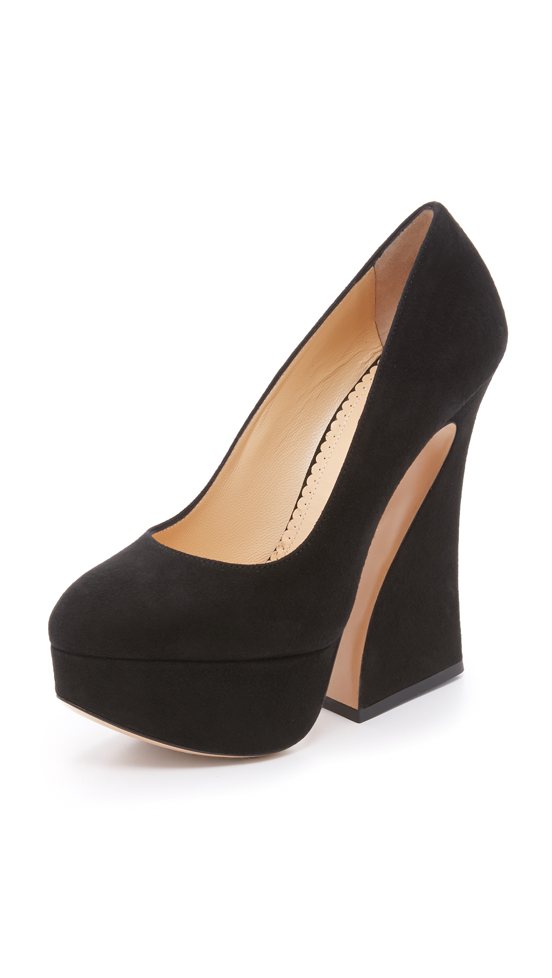 Charlotte Olympia Millicent Pumps - Black at Shopbop