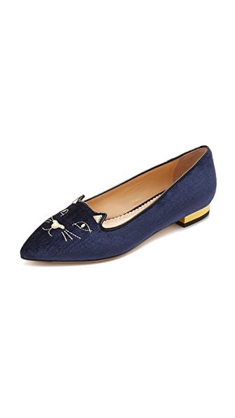 Charlotte Olympia Mid Century Kitty Flats at Shopbop