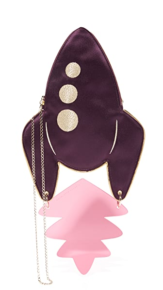 Charlotte Olympia Blast Off Cross Body Clutch