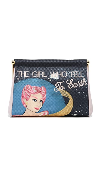 Charlotte Olympia The Girl Who Fell to Maggie Clutch - Multi