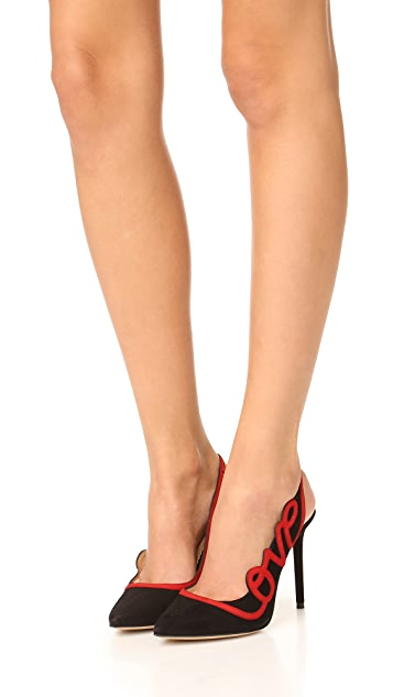 Charlotte Olympia Love Pumps