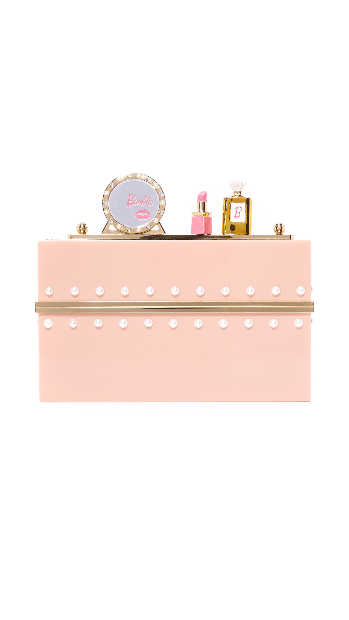 Charlotte Olympia Charlotte Olympia X Barbie World Clutch Box - Blush