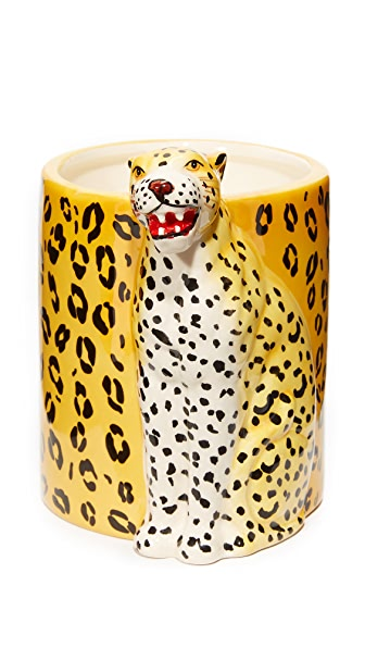 Charlotte Olympia Bruce Candle - Leopard