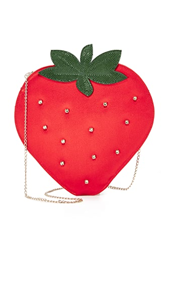 Charlotte Olympia Strawberry Pouch