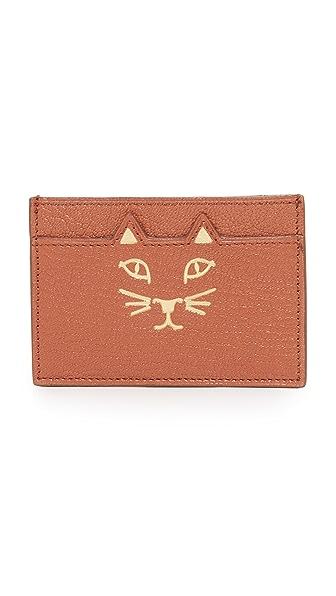 Charlotte Olympia Feline Card Case