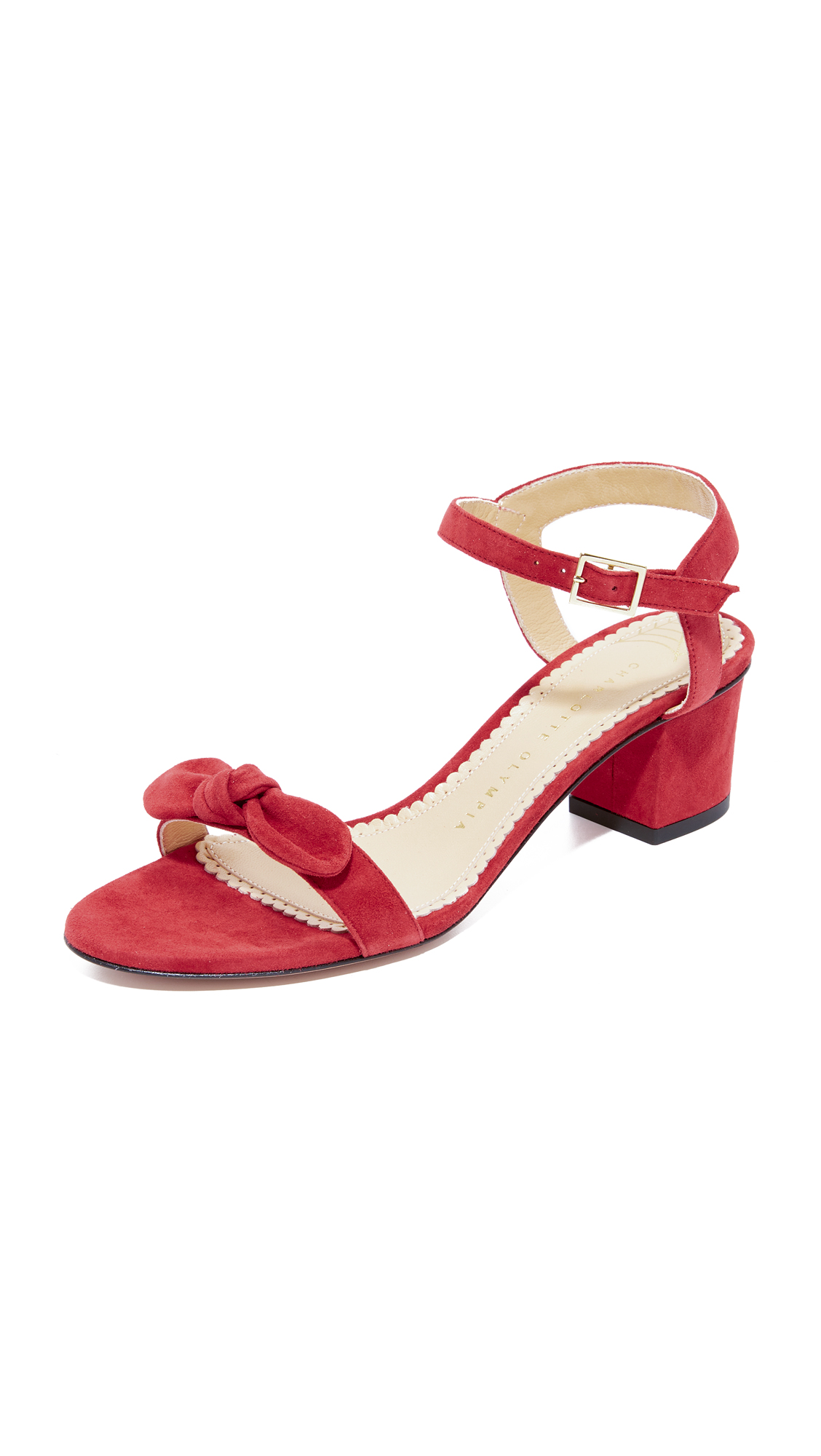Charlotte Olympia Harley Sandals - Red