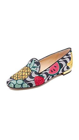 Charlotte Olympia Fruit Salad Slippers at Shopbop