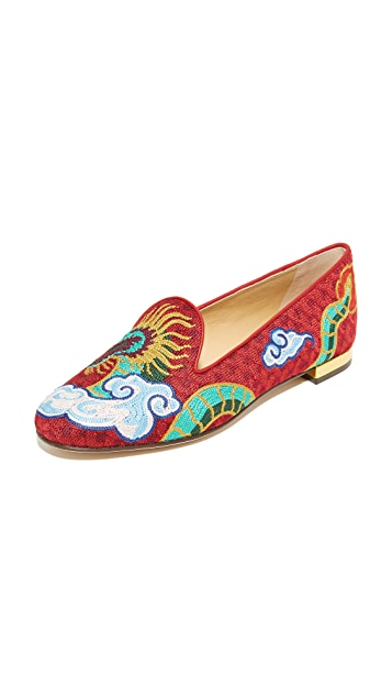 Charlotte Olympia Dragon Slippers