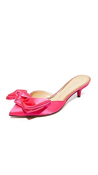 Charlotte Olympia Sophie Pumps - Hot Pink