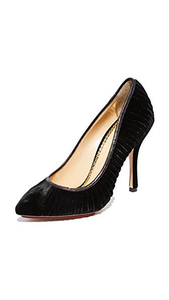 Charlotte Olympia Bacall Pumps - Black