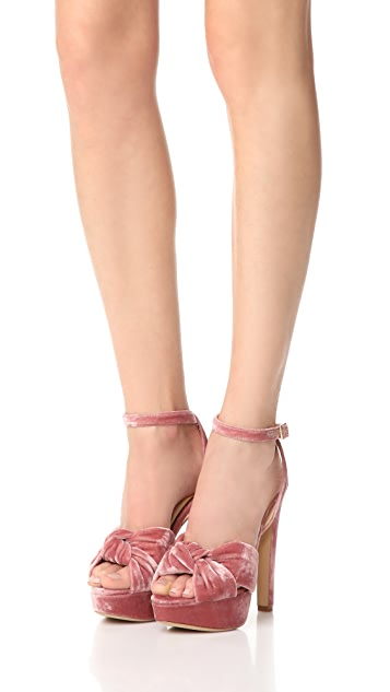 Charlotte Olympia Tiffani Ankle Strap Pumps