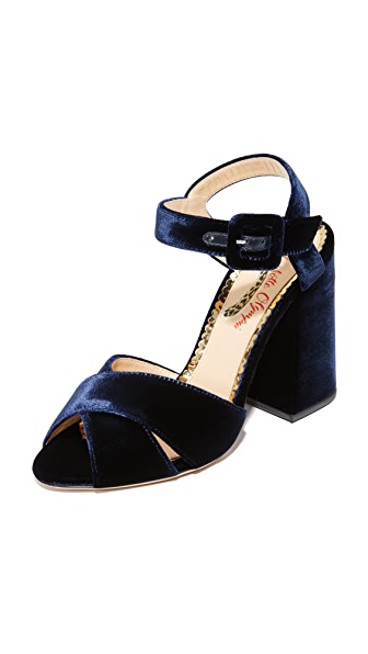 Charlotte Olympia Emma Sandals - Navy