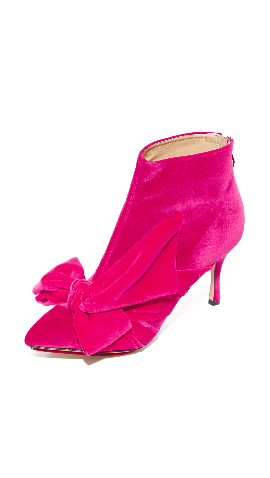 Charlotte Olympia Myrtl Booties - Pink
