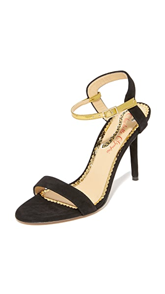 Charlotte Olympia Quintissential Pumps - Black/Gold
