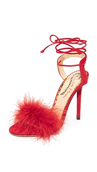 Charlotte Olympia Salsa 110 Pumps - Red