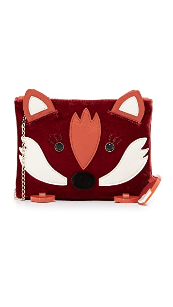 Charlotte Olympia Fox Pouch