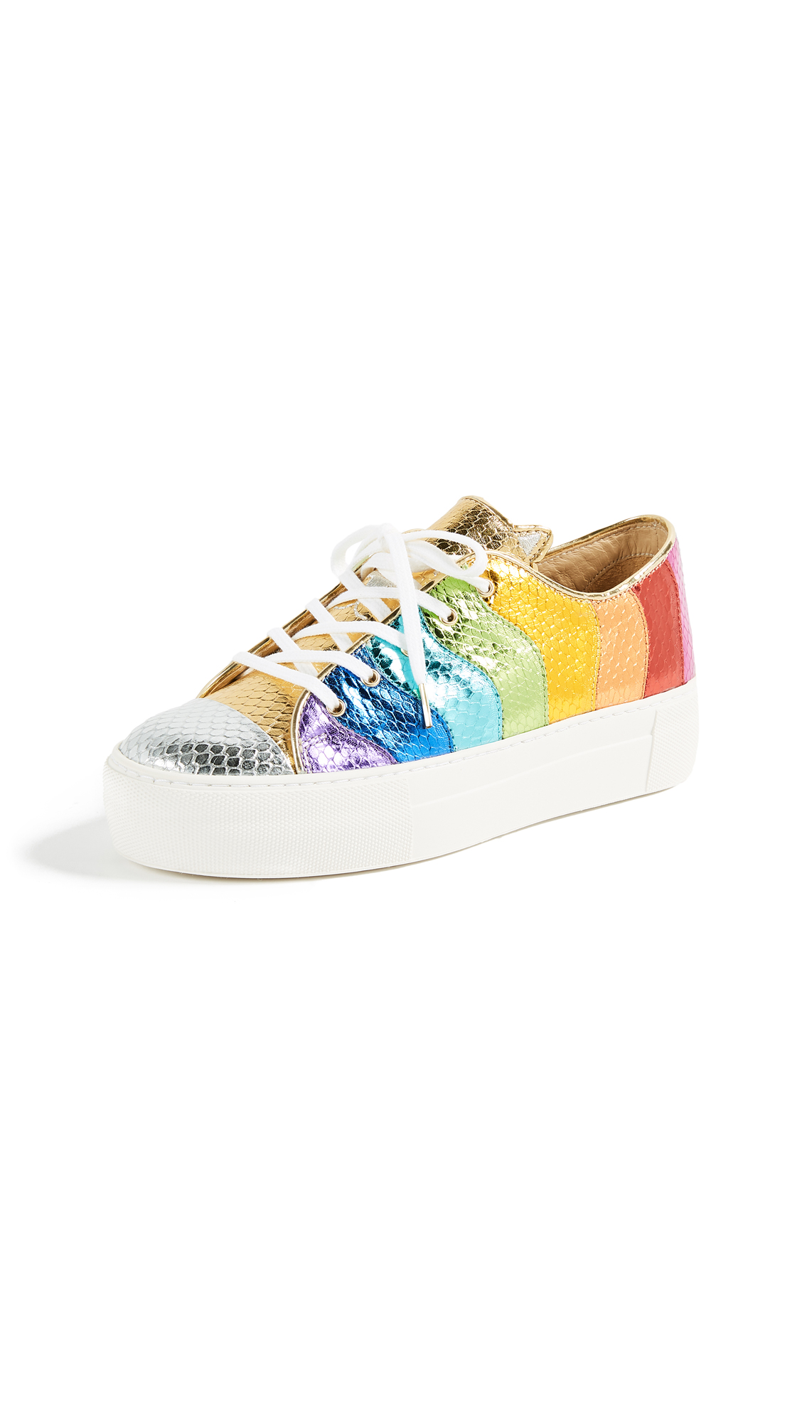 Charlotte Olympia Purrfect Sneakers - Multi