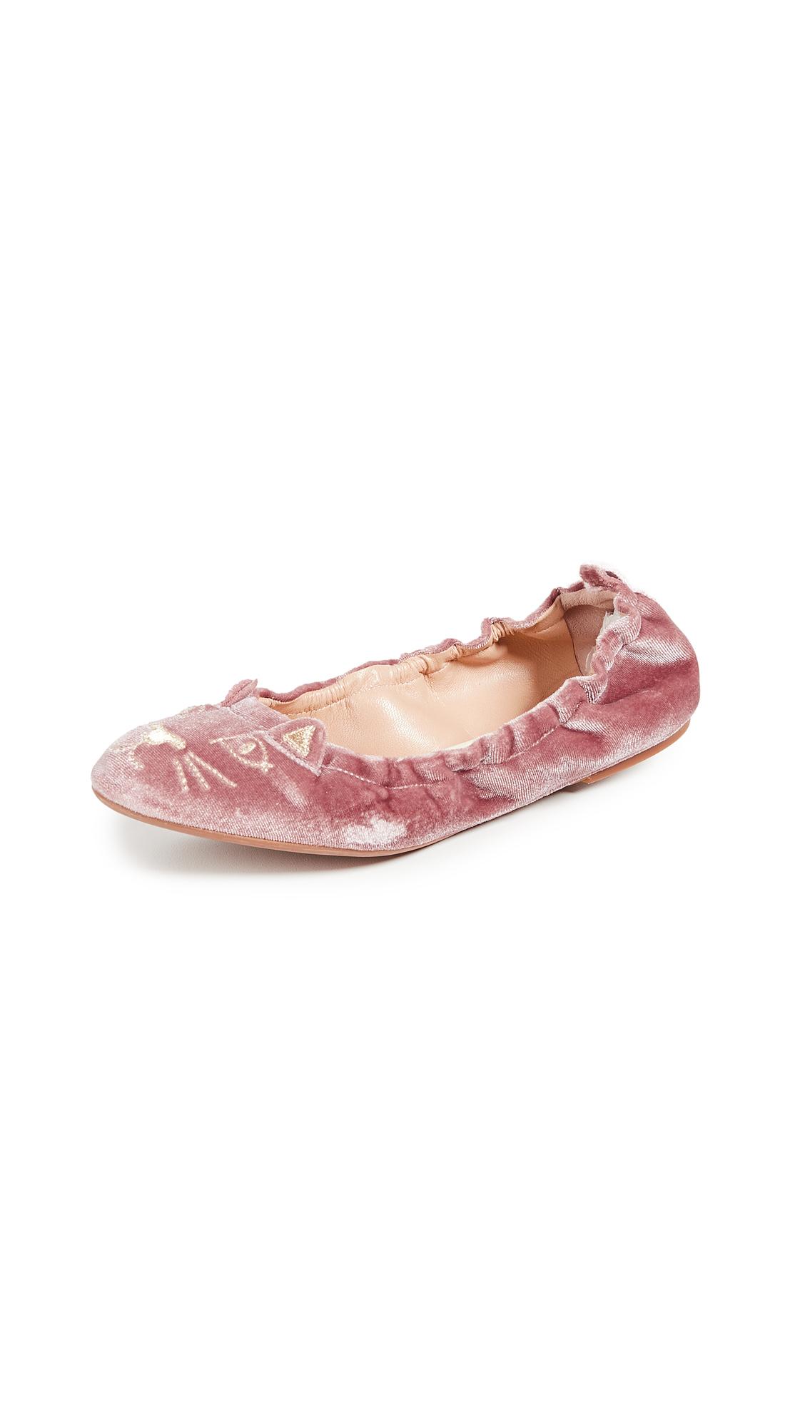 Charlotte Olympia Kitty Flats - Pink