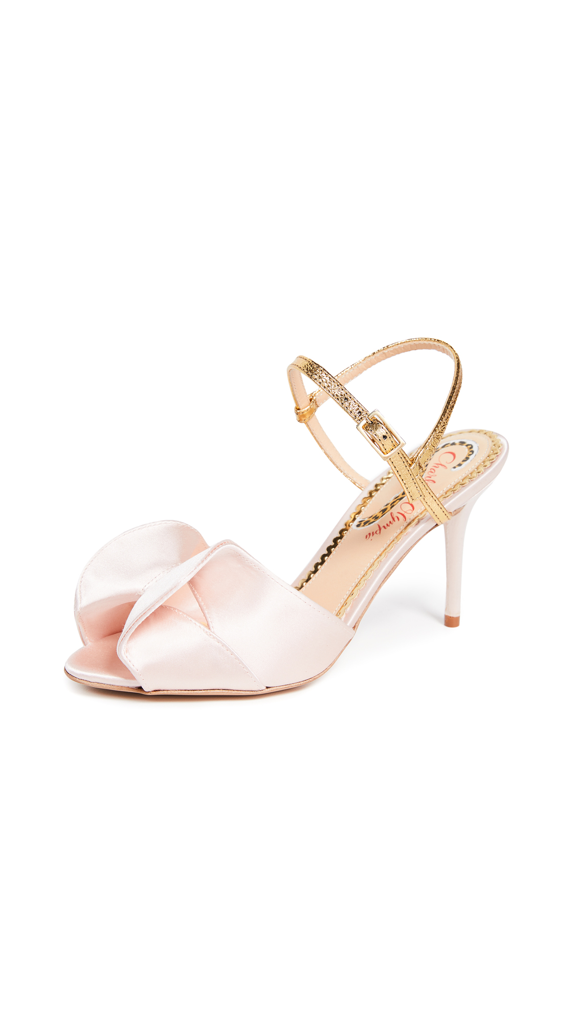 Charlotte Olympia Patrice Sandals - Pale Pink