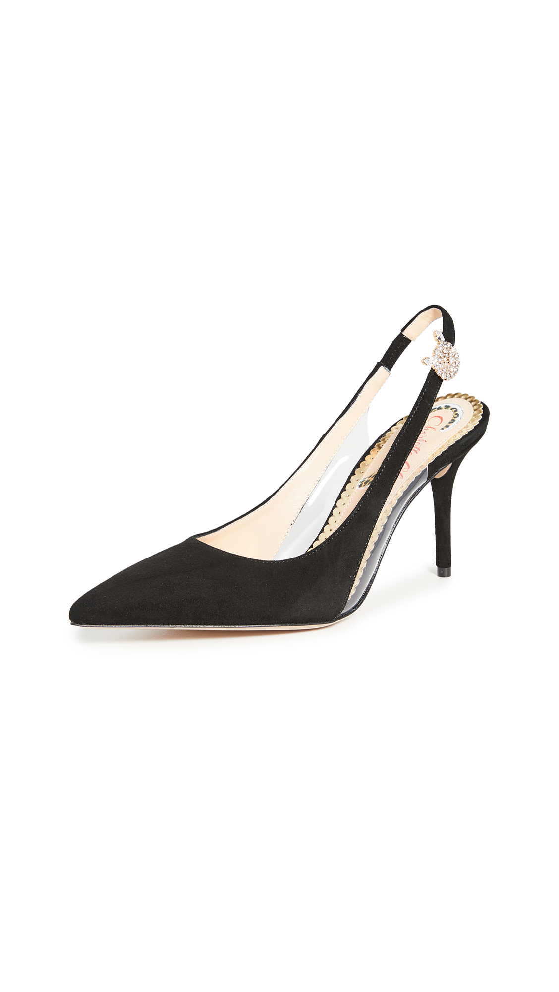 Charlotte Olympia Slingback Pumps - 60% Off Sale