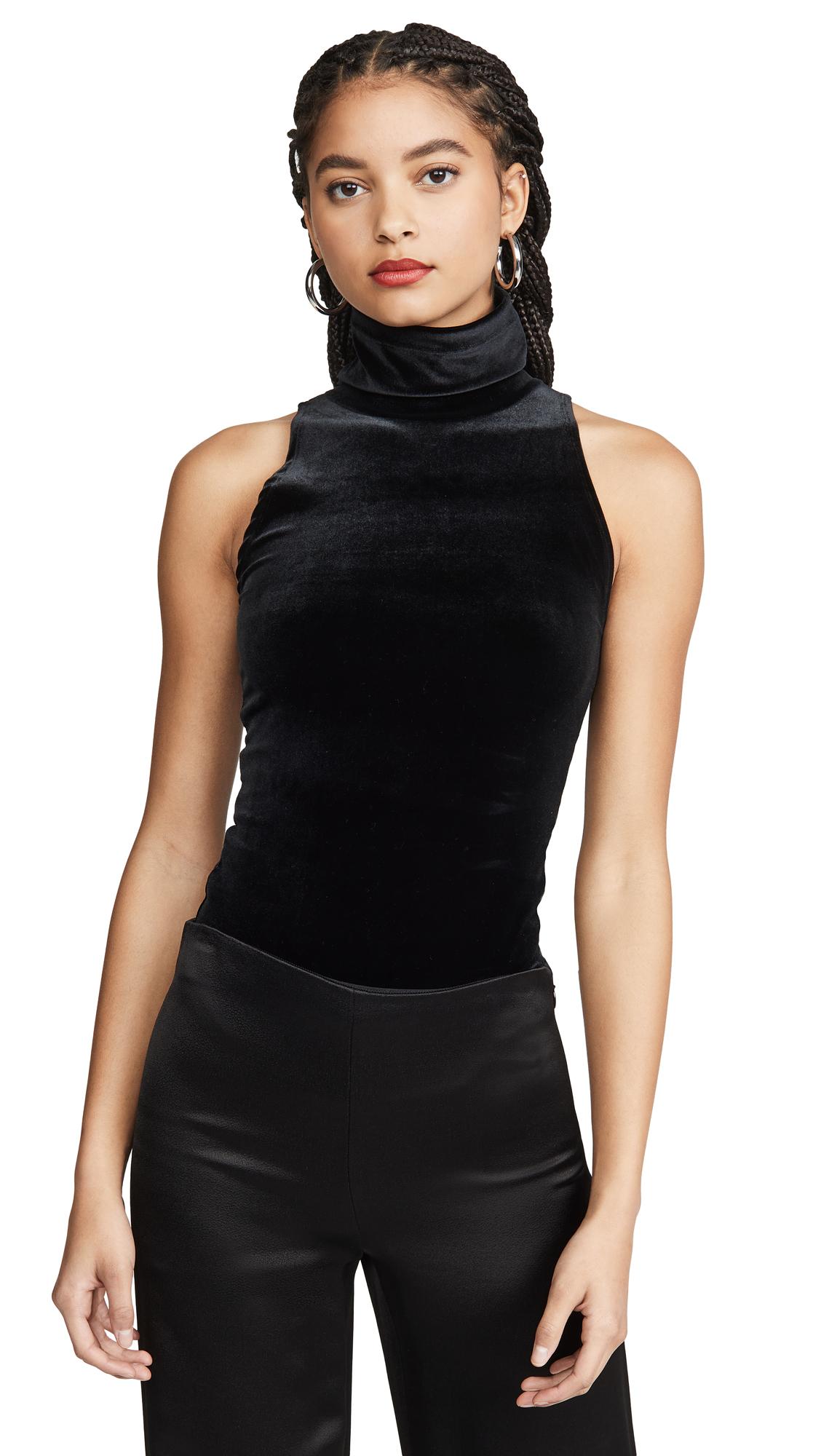 Buy Commando online - photo of Commando Velvet Sleeveless Turtleneck Bodysuit
