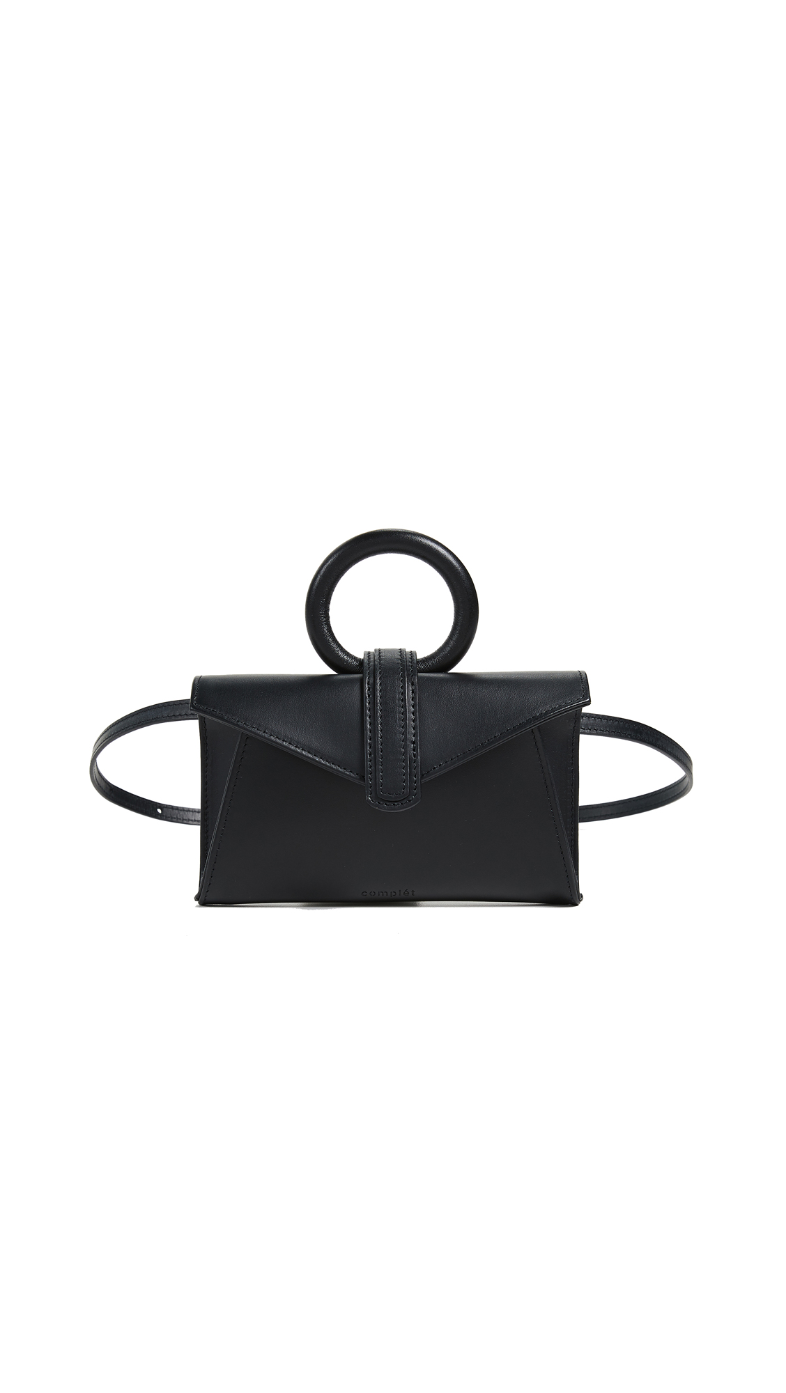 Valery Micro Belt Bag, Black